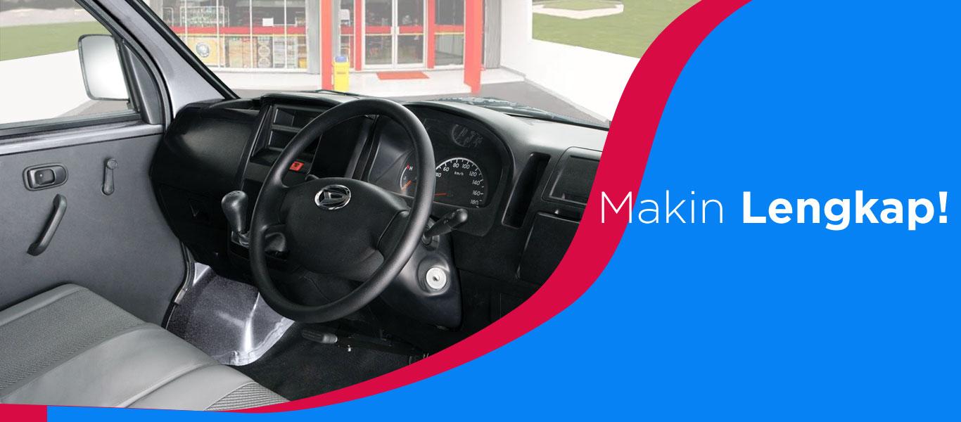 Daihatsu Granmax PU interior