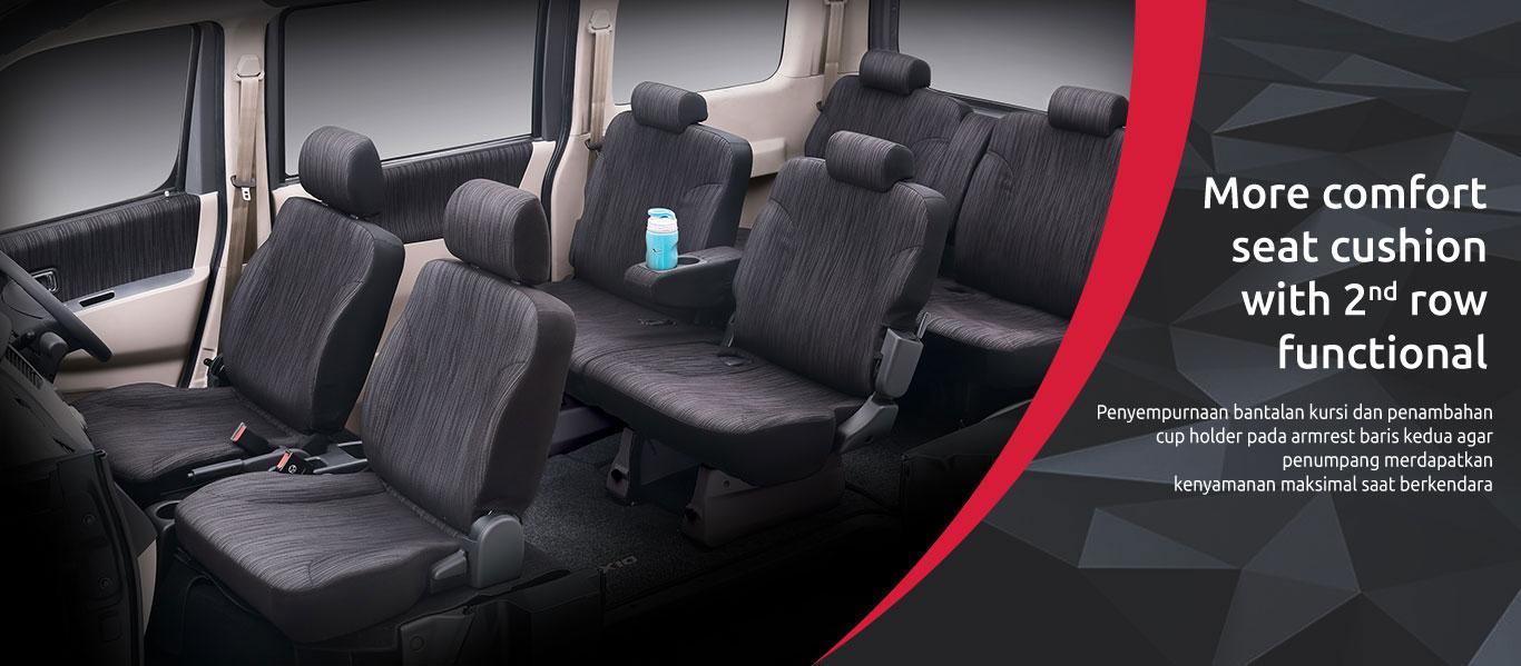 Daihatsu Luxio Interior