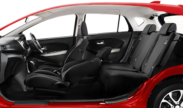 Daihatsu Sirion Front Passanger Seat Flat