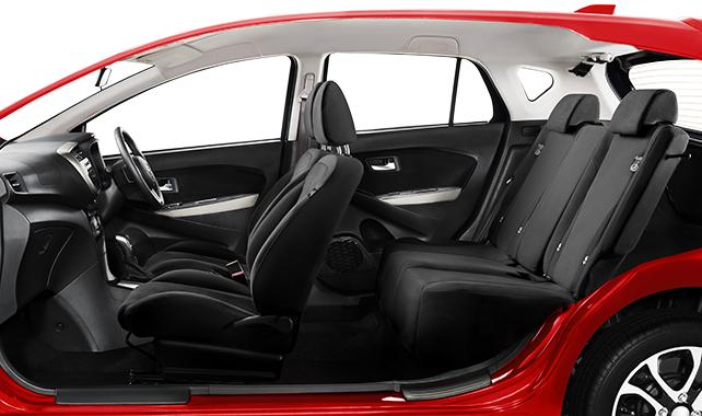 Daihatsu Sirion Normal Seat Arrangement