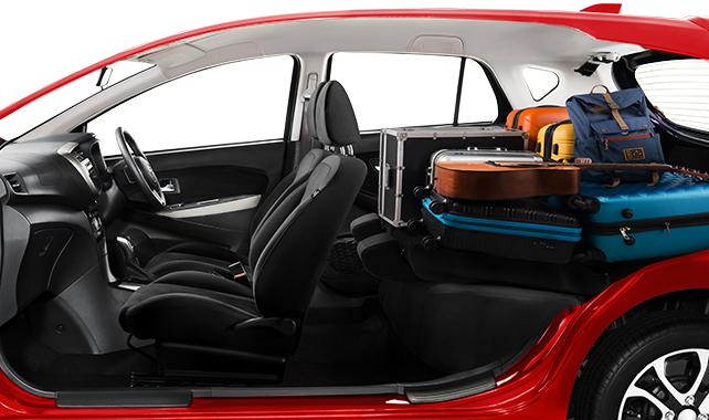 Daihatsu Sirion Rear Seat Full Flat