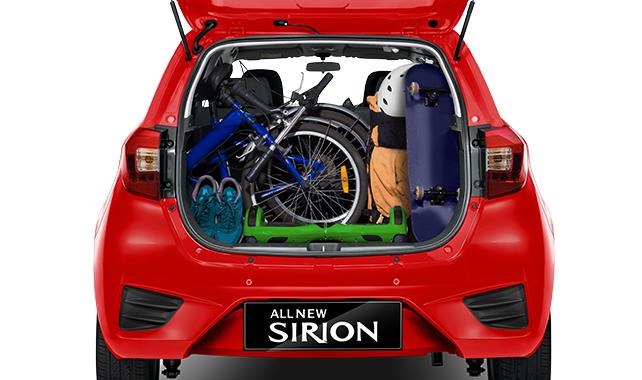 Daihatsu Sirion Spacious Luggage