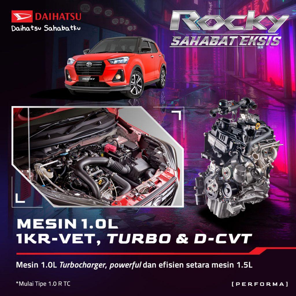 NEW 1.0L 1KR-VET TURBOCHARGED ENGINE